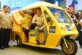 Electric Tricycles Debut in Metro Manila