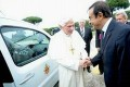 Renault Gives Pope Benedict Two Electric Vehicles
