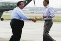 President Obama, Governor Christie Tour Damaged New Jersey