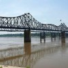 Mississippi River Barge Hits Bridge, Spills Oil