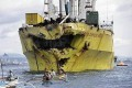 Cebu Oil Spill Spreads as Ferry Sinking Inquiry Opens