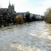 UK Floods Persist, Cameron Blames Climate Change