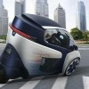 Toyota Sets Electric i-Road Cars Loose on City Streets