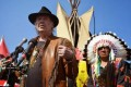 Boots and Moccasins March Against Keystone XL Pipeline