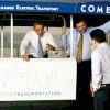 Obama Checks Out Manila's New Made-in-USA Electric Minibuses