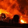 Fiery Oil Train Crash Lights Up Frozen Ontario Woods