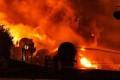 Fiery Oil Train Crash Lights Up Frozen Ontario Woods