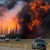 Raging Alberta Wildfires Block Oil Sands Production