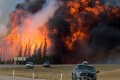 Raging Alberta Wildfires Block Oil Sands Production