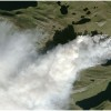 Wildfire Rages on Icy Greenland's West Coast