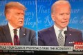 Trump Rude, Biden Cool in First Presidential Debate