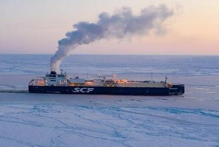 Russian Tanker First to Sail Arctic Sea Route in Winter