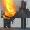 Fire Consumes Gulf of Mexico Gas Well
