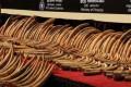 Sri Lanka Crushes Tonnes of Contraband Ivory
