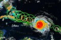 Category 5 Hurricane Irma on a Caribbean Rampage