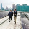 Giant New Solar Array Powers L.A. Convention Center
