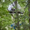 Tree Sitters Protest Mountain Valley Gas Pipeline