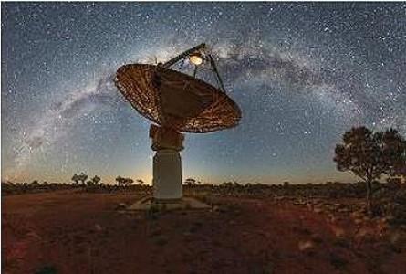 Australian Radio Telescope Maps Universe at Warp Speed
