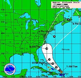 Hurricane Earl Batters Caribbean Islands Heads For U S East Coast