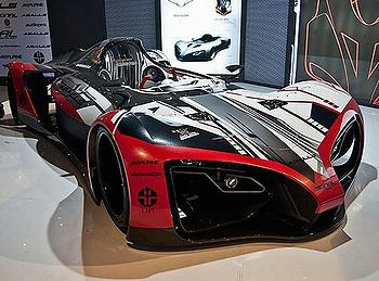 The SKEV Indonesias Hot Electric Sports Car ENS - Hot sports cars