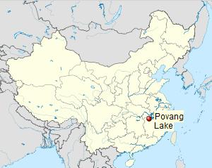 Chinas Largest Freshwater Lake Shrinks in Record Drought ENS