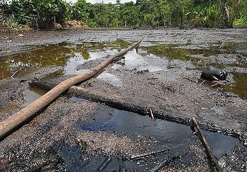oil pollution Ecuador