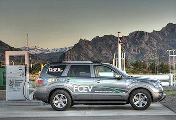 fuel cell SUV