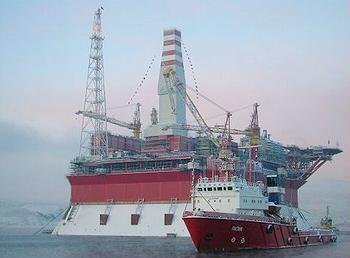 Gazprom platform