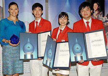 Junior Water Prize winners