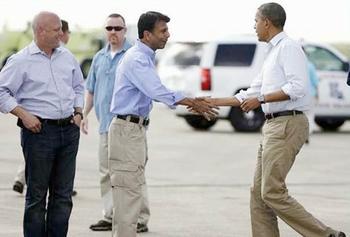 Obama and Jindal