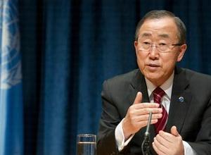UN Secretary -General Ban Ki-moon
