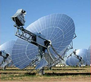 Stirling solar dish