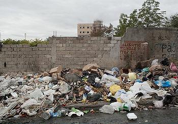 Haiti garbage