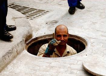 Havana worker