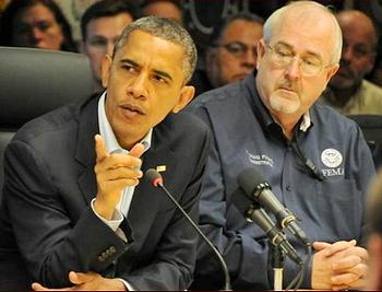 Obama and Fugate