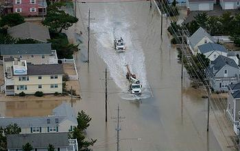 Sandy flood New Jersey