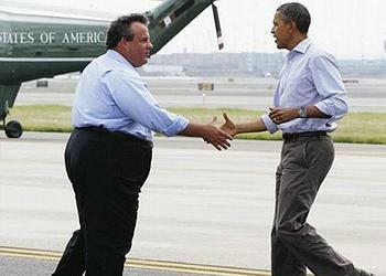 Christie, Obama