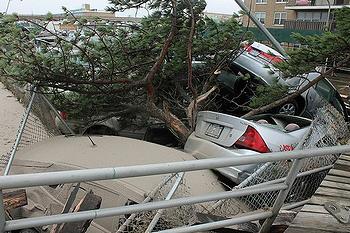 Sandy, Rockaway Beach