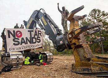 tar sands blockaders