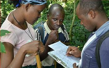 Bwindi census team