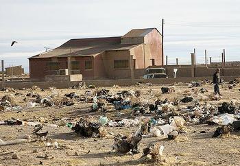 trash dump Bolivia