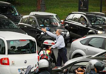 Rome, traffic