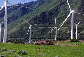 wind energy, Utah