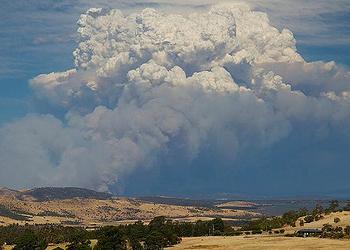 bushfire, Tasmania