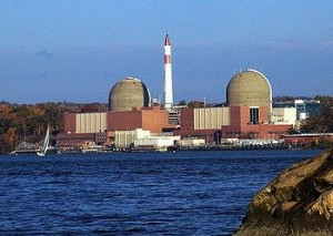 Entergy's Indian Point nuclear power plant on the Hudson River at Buchanan, New York (Photo courtesy NRC)