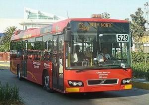 Mexico City bus