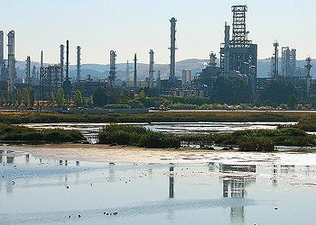 refinery, San Francisco Bay