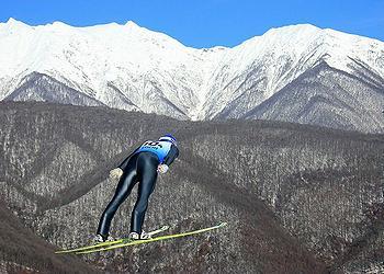skier Sochi