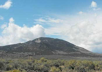 Mount Hope in central Nevada (Photo by Lisa J. Wolf)