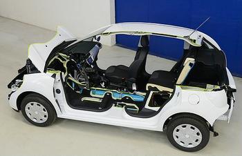 Hybrid Air car